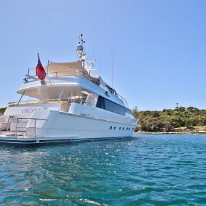 Oscar II yacht whitsundays front