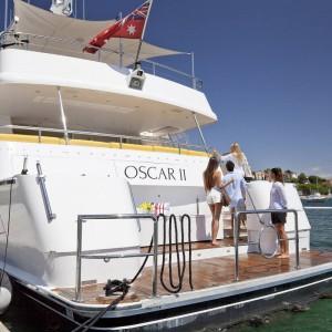 Oscar II yacht whitsundays rear