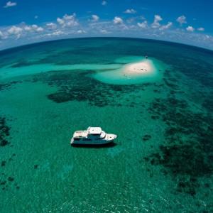 Aroona boat aerial 2
