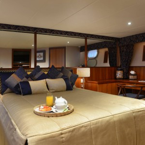 Cosmos yacht master stateroom