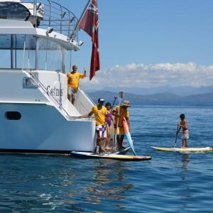 Cosmos yacht water toys fun