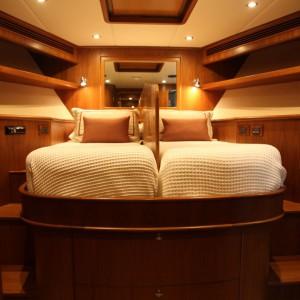Aroona boat guest room