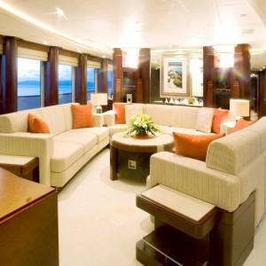 Yacht charters whitsundays saloon lounge