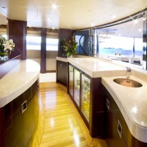 Yacht charters whitsundays Upperdeck bAR