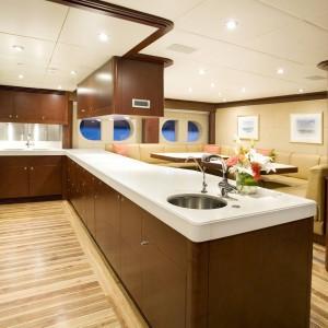 Yacht charters whitsundays galley