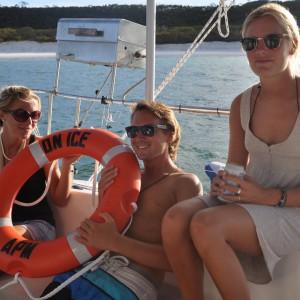 yacht charters whitsundays front