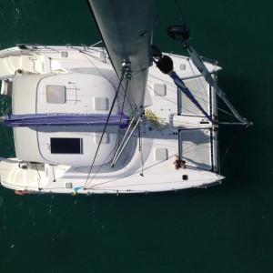 fusion 40 catamaran yacht