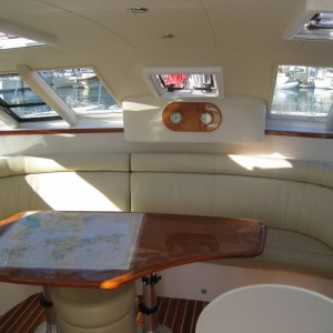 Montebello 12.5 sailing catamaran saloon