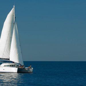 whitsunday blue catamaran