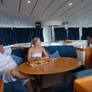 whitsunday blue catamaran catering