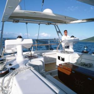 bliss yacht captain area