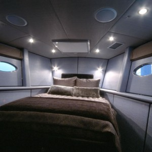 bliss yacht bedroom