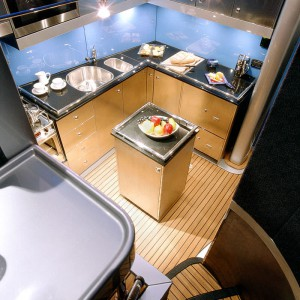 bliss yacht aerial