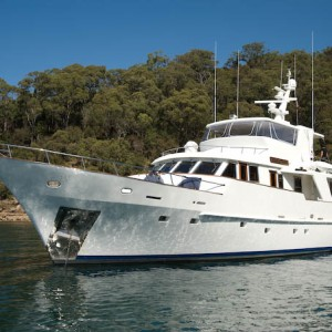 Atlantic princess moored