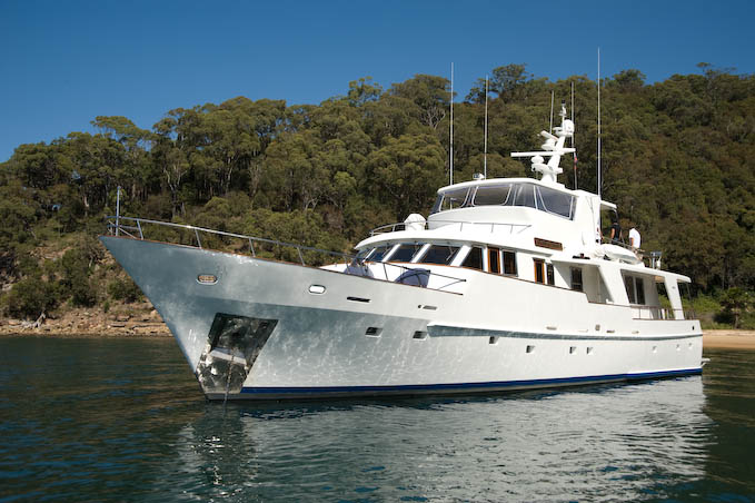 Atlantic Princess 86ft Whitsunday Charter Boats Gold Coast Based