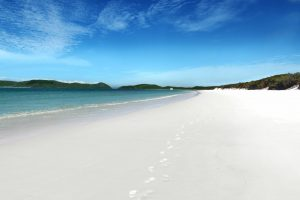 spend xmas on whitehaven beach in the whitsundays